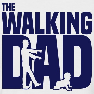 the walking dad T-Shirts - Männer Baseball-T-Shirt