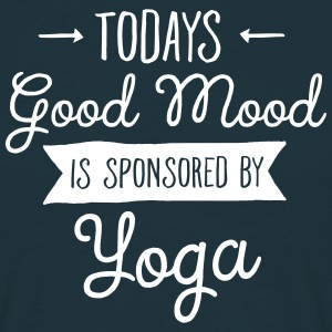 Good Mood Sponsored By Yoga Tee shirts - T-shirt Homme