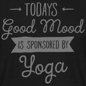 Good Mood Sponsored By Yoga Magliette - Maglietta da uomo
