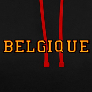 belgique Sweat-shirts - Sweat-shirt contraste