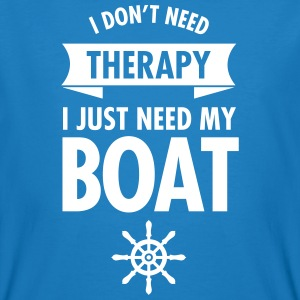 I Don't Need Therapy - I Just Need My Boat T-shirts - Ekologisk T-shirt herr