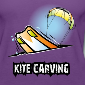 Kite Carving - Frauen Premium Tank Top