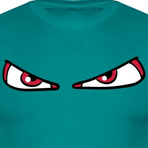 angry dangerous eyes T-Shirts - Men's T-Shirt