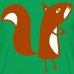 squirrel png T-shirts - T-shirt herr