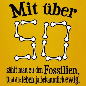 "Geburtstag T-Shirts mit ""Fossil 50. Geburtstag"""