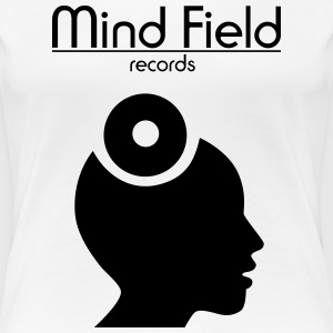 Mind Field Records - Custom Label Logo Design T-Shirts - Frauen Premium T-Shirt