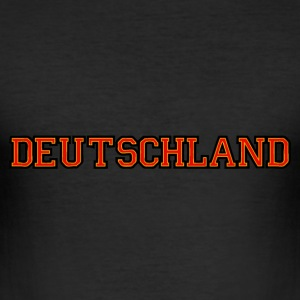 deutschland T-shirts - slim fit T-shirt