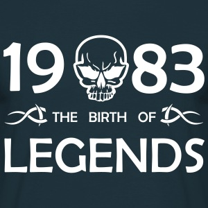 1983 Legends - Männer T-Shirt