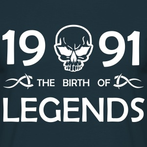 1990 Legends - Männer T-Shirt