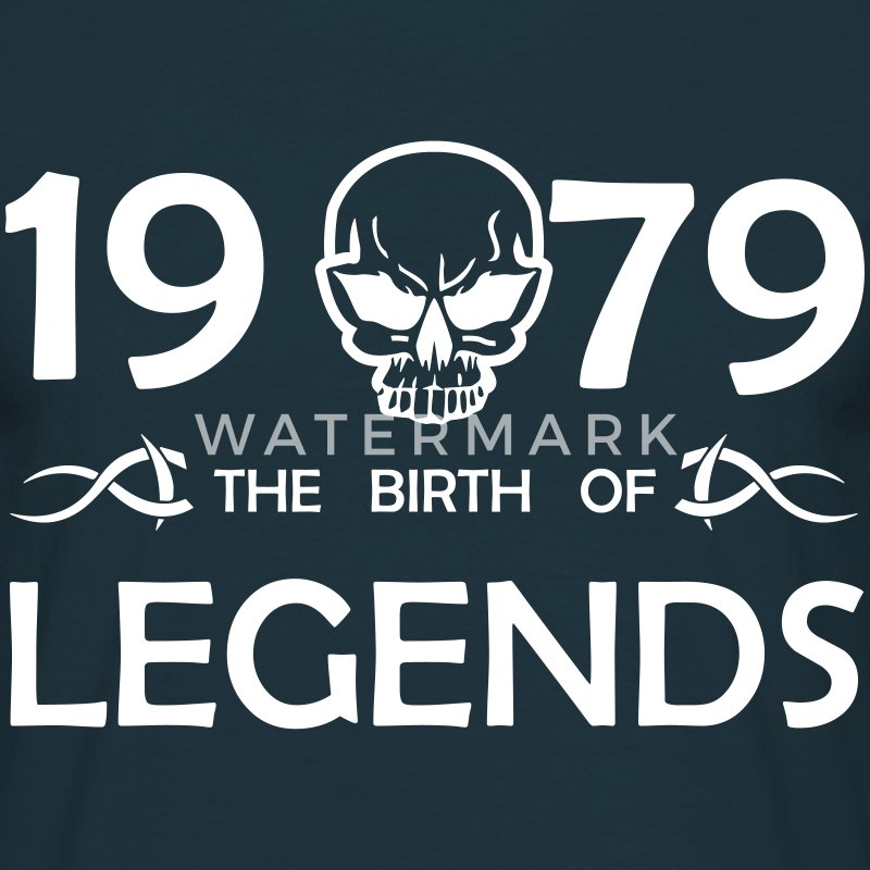 1979 Legends - Männer T-Shirt