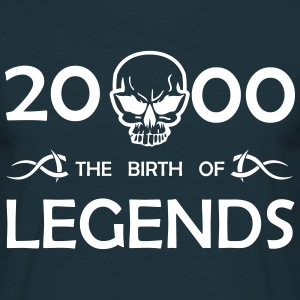 2000 Legends - Männer T-Shirt