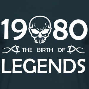 1980 Legends - Männer T-Shirt