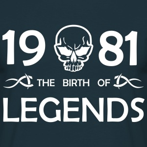 1981 Legends - Männer T-Shirt