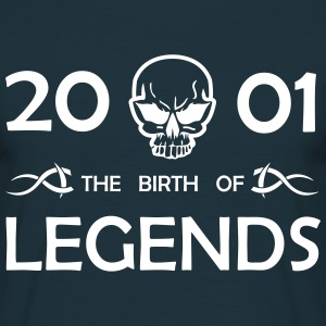 2001 Legends - Männer T-Shirt