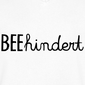 BEEHINDERT! T-Shirts - Men's V-Neck T-Shirt