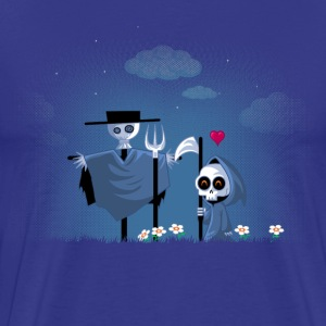 Kongeblå dead in love T-shirts - Herre premium T-shirt