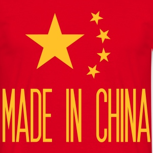 Made in China - Herre-T-shirt