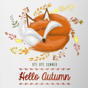 Mug Hello Autumn - Tasse bicolore