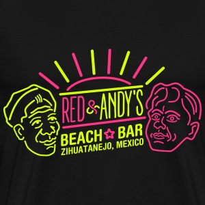 Red and Andy's T-shirts - Mannen Premium T-shirt