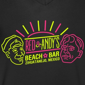 Red and Andy's T-shirts - Mannen T-shirt met V-hals