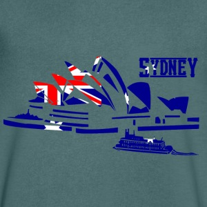 sydney T-Shirts - Men's V-Neck T-Shirt