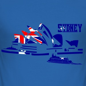 sydney T-Shirts - Men's Slim Fit T-Shirt