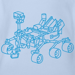 Curiosity, the Marsrover Shirts - Organic Short-sleeved Baby Bodysuit