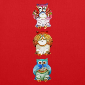 Three wise owls - Tote Bag