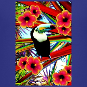 Toucan  T-shirts - Teenager premium T-shirt