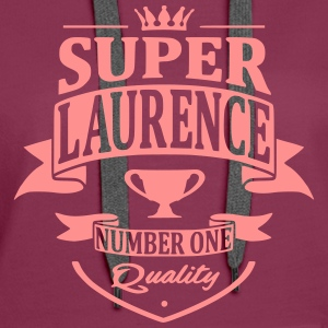 Super Laurence Sweat-shirts - Sweat-shirt à capuche Premium pour femmes