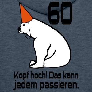"""Geburtstag T-Shirts mit """"60 Geburtstag Kopf hoch"""""""