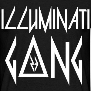 Illuminati G▲ng - Men's T-Shirt