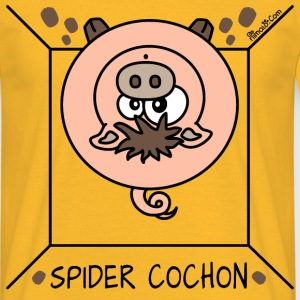 Tee shirt Homme Spider Cochon, Homer Simpson - T-shirt Homme