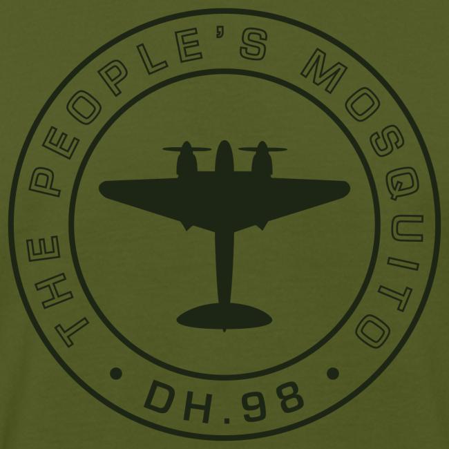 Men's Chest MP Logo Organic T-Shirt - Green