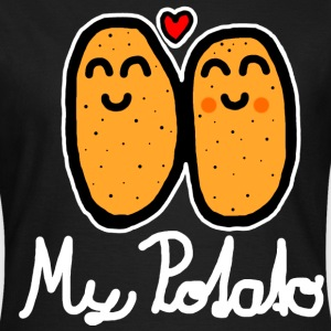 My Potato (white) - Women's T-Shirt