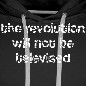 revolution televised Sweat-shirts - Sweat-shirt à capuche Premium pour hommes