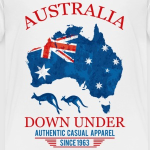 AUSTRALIA - DOWN UNDER 2 Shirts - Teenage Premium T-Shirt
