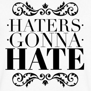 Haters gonna hate T-shirts - Herre T-shirt med V-udskæring