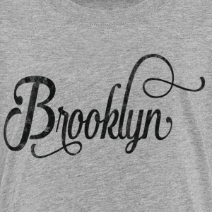 Brooklyn typography vintage Shirts - Teenager Premium T-shirt