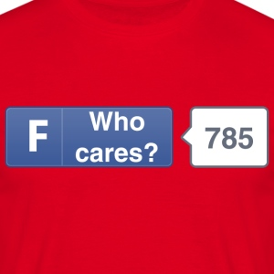 FB button - Care T-Shirts - Men's T-Shirt