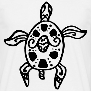 turtle tatoo T-skjorter - T-skjorte for menn