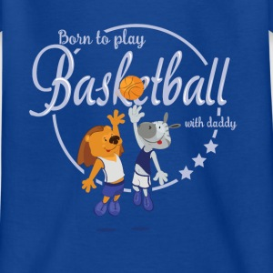 born to play basket - T-shirt Enfant