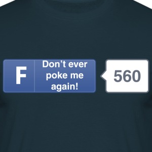 FB - button - Poke T-Shirts - Men's T-Shirt
