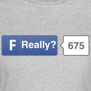 FB button - Really T-Shirts - Women's T-Shirt