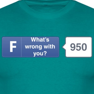 FB button - Wrong T-Shirts - Men's T-Shirt