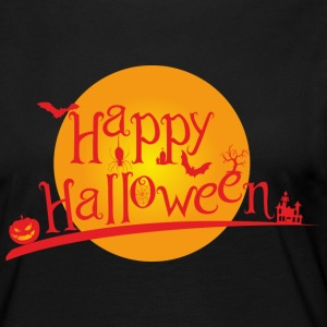Happy Halloween Manga larga - Camiseta de manga larga premium mujer