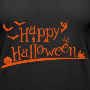 Happy Halloween Tops - Women's Premium Tank Top