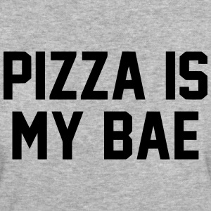 PIZZA IS MY BABE T-Shirts - Women's Organic T-shirt