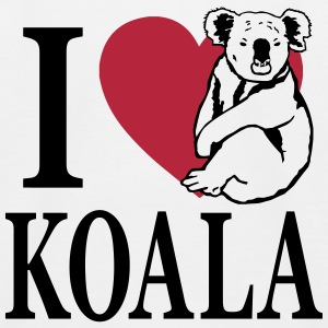 I love Koala T-Shirts - Kinder Baseball T-Shirt