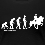 Motiv ~ Damen T-Shirt Evolution